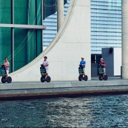 Berlin segway tourists