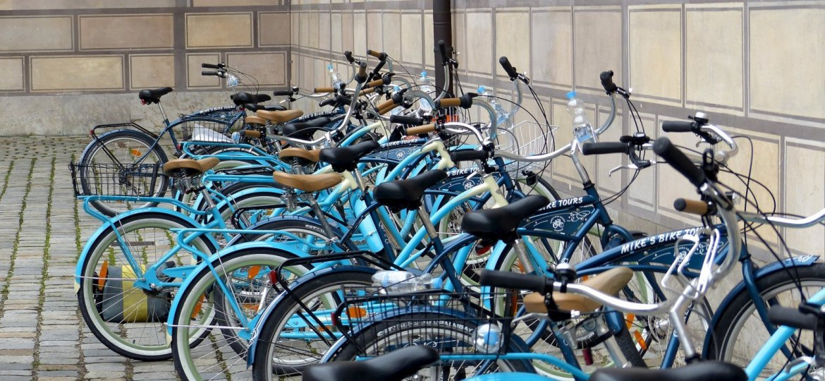 Bicycles in Munich
